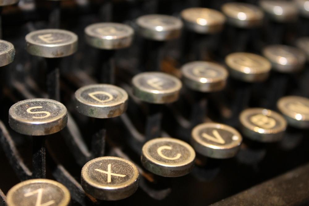 free image typewriter