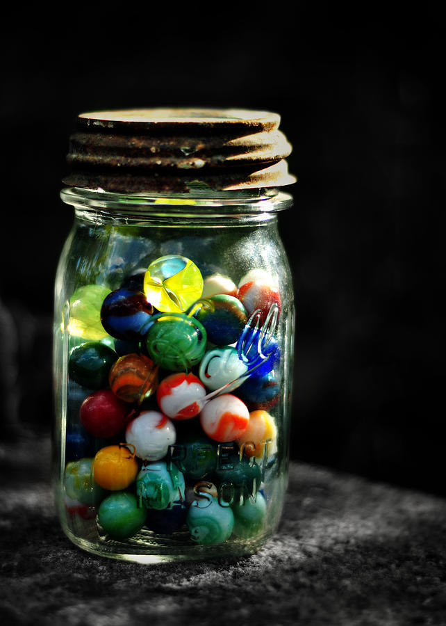 Jar Of Marbles Story : Marbles in a jar words from writer
